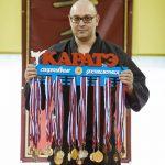 Дмитрий Камазин медальница